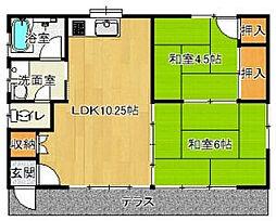 [一戸建] 千葉県香取市篠原イ の賃貸【/】の間取り