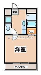 ワイズコートヨシトミ[3階]の間取り
