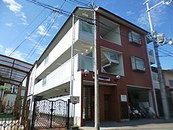 大阪府羽曳野市白鳥1丁目の賃貸アパートの外観