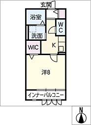 Aria[2階]の間取り