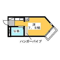 BELLE TOPIA 稲沢 V[4階]の間取り