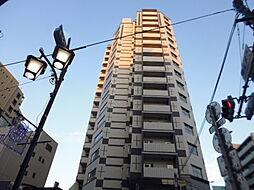 グラーサ白金高輪[12階]の外観