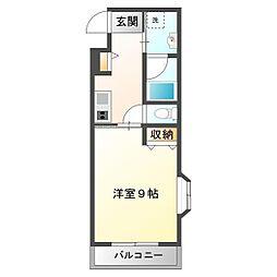 埼玉県和光市新倉1丁目の賃貸マンションの間取り