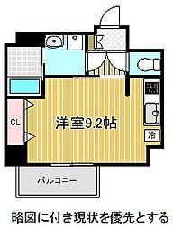 名古屋市営桜通線 吹上駅 徒歩1分の賃貸マンション 2階1Kの間取り