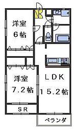 ドゥMKK[2階]の外観