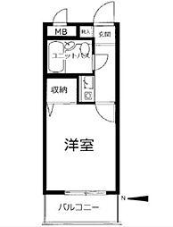 ライオンズマンション梅島第3[1階]の間取り