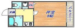 パインリッチⅠ[2階]の間取り