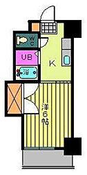 第96杉フラット[805 号室号室]の間取り