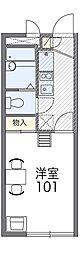 Osaka Metro中央線 深江橋駅 徒歩8分の賃貸マンション 3階1Kの間取り