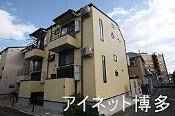 福岡県福岡市博多区麦野1丁目の賃貸アパートの外観
