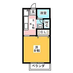 サテライトシティ水戸II[2階]の間取り
