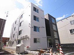 北海道札幌市北区北三十二条西5丁目の賃貸マンションの外観