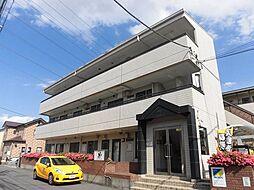 埼玉県草加市青柳6丁目の賃貸マンションの外観