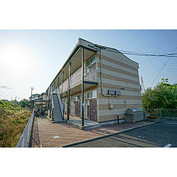 岡山県岡山市東区浅越の賃貸アパートの外観