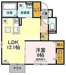 JR山陽本線 東岡山駅 徒歩15分の賃貸アパート
