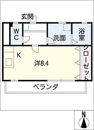 エステート[2階]の間取り