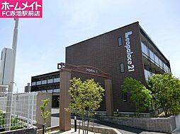 愛知県名古屋市緑区熊の前1丁目の賃貸アパートの外観