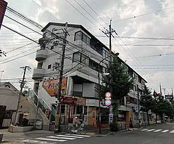 京都府京都市右京区常盤西町の賃貸マンションの外観