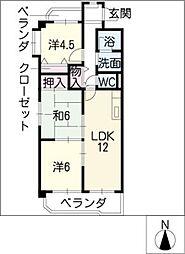 ル・プラン[3階]の間取り