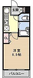 プレサンス京都烏丸御池[802号室号室]の間取り