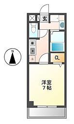 愛知県名古屋市昭和区鶴舞3の賃貸マンションの間取り