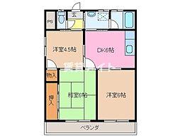 シャンピア松阪[3階]の間取り