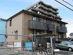 東京都日野市万願寺5丁目の賃貸アパートの外観