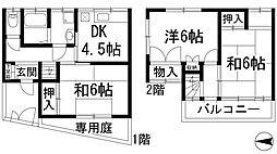 [一戸建] 兵庫県宝塚市仁川うぐいす台 の賃貸【/】の間取り