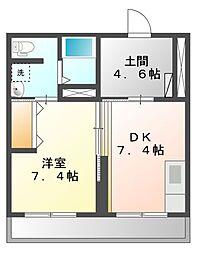 Grand Maison Aoi[2階]の間取り