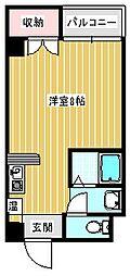 セラ徳島[605号室]の間取り