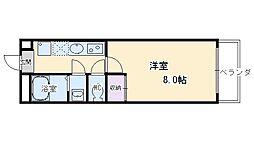 G・F東本願寺[105号室号室]の間取り