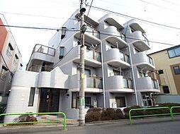 東京都練馬区羽沢3丁目の賃貸マンションの外観