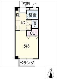 メゾン75[3階]の間取り