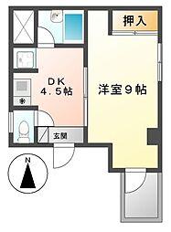 エスプリ千代田[6階]の間取り