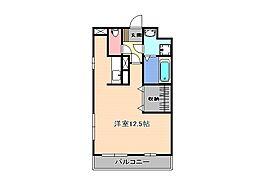 栃木県宇都宮市緑5丁目の賃貸マンションの間取り