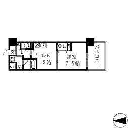 Art Pension(アールパンション)高井田[5階]の間取り