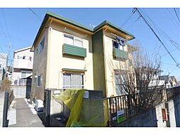 東京都日野市三沢5丁目の賃貸アパートの外観