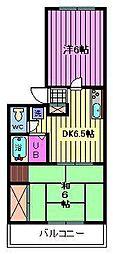 メゾン松崎[2階]の間取り