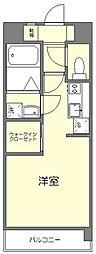 エンクレスト博多駅南3[2階]の間取り