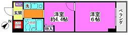 ガーデンプラザ横浜南[210号室号室]の間取り