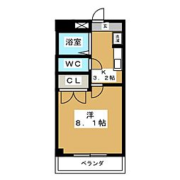 五番街Classic[3階]の間取り