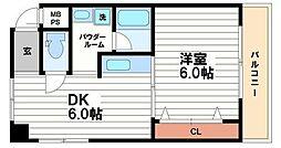 日宝ア・ラ・メゾン[3階]の間取り