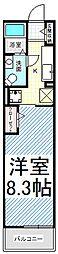 T-アルバII[2階]の間取り
