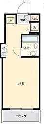 東京都葛飾区四つ木5の賃貸マンションの間取り