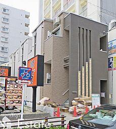 愛知県名古屋市北区上飯田通1丁目の賃貸アパートの外観
