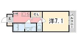 Capital.i姫路[713号室]の間取り