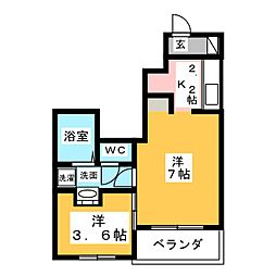 妙興寺駅 4.9万円