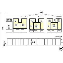 ボンヌ・シャンス[1階]の外観
