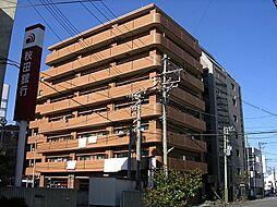 パークハイツ万代[8階]の外観