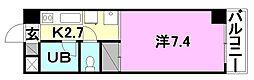 オクトワール松山土居田(東)[305 号室号室]の間取り